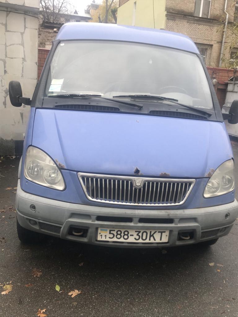 Автомобіль вантажний, ГАЗ 2705, рік випуску 2003, державний номер 588-30КТ, об'єм двигуна 2300, XTH27050030340953